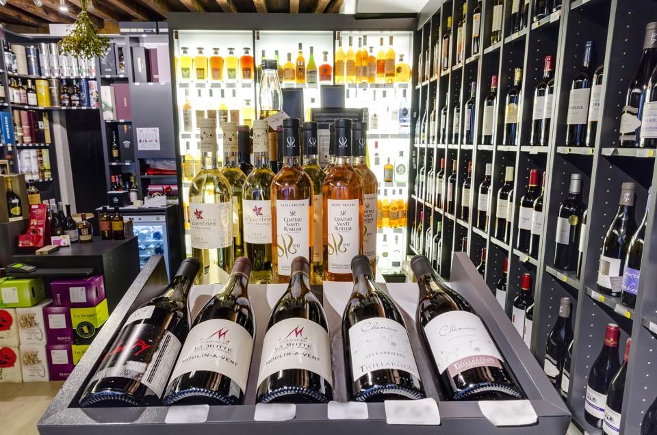 La Cour des Cols, vins et spiritueux à Metz