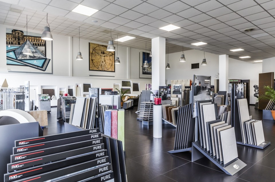 photo reportage client magasin nasso carrelages
