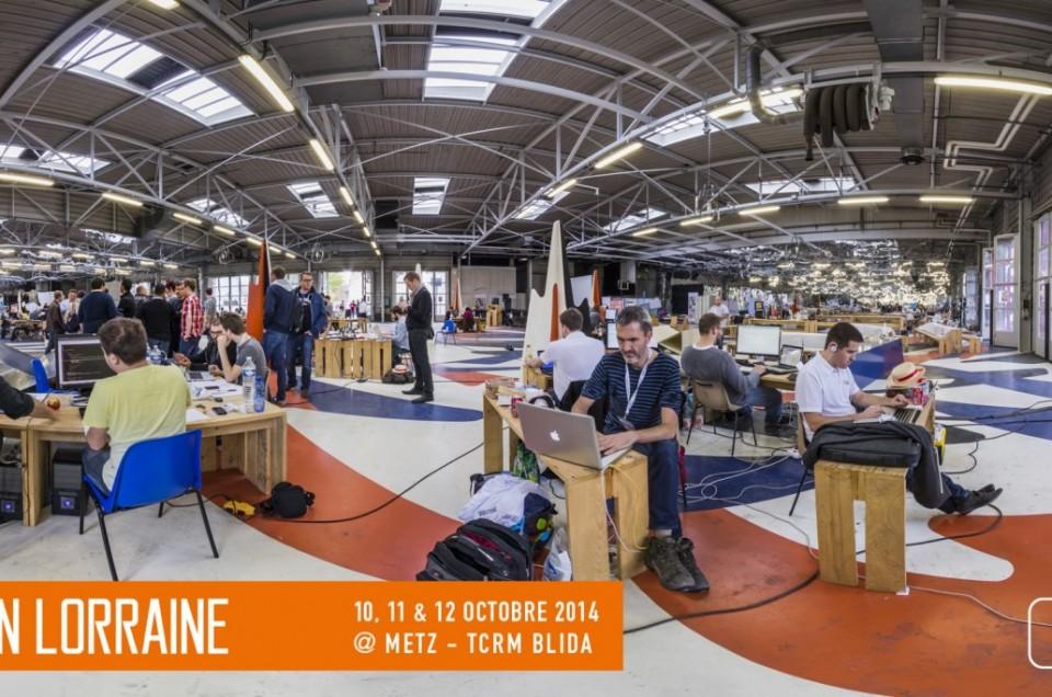 Hackathon Gen Lorraine octobre 2014, à TCRM Blida, Metz