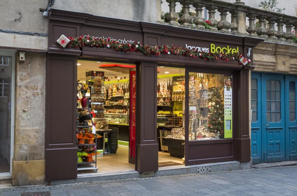 C'est les Fêtes, pensez aux chocolats Jacques Bockel & Co Lorraine à Metz
