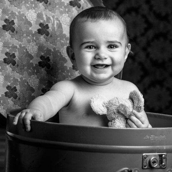 photo portrait bébé
