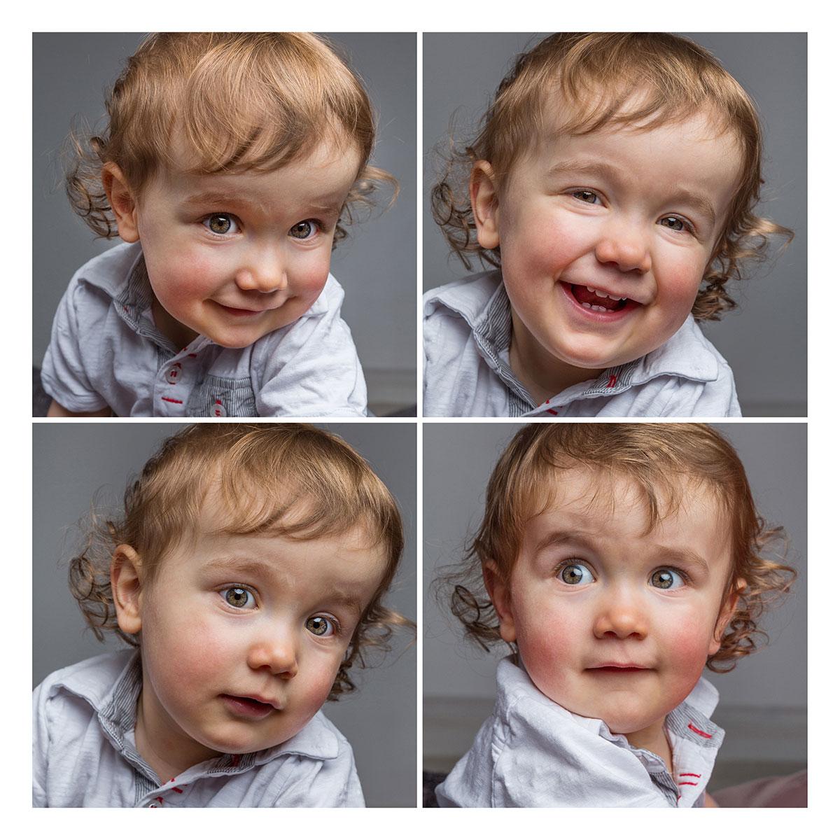 photo portrait enfant studio sourire Lorraine