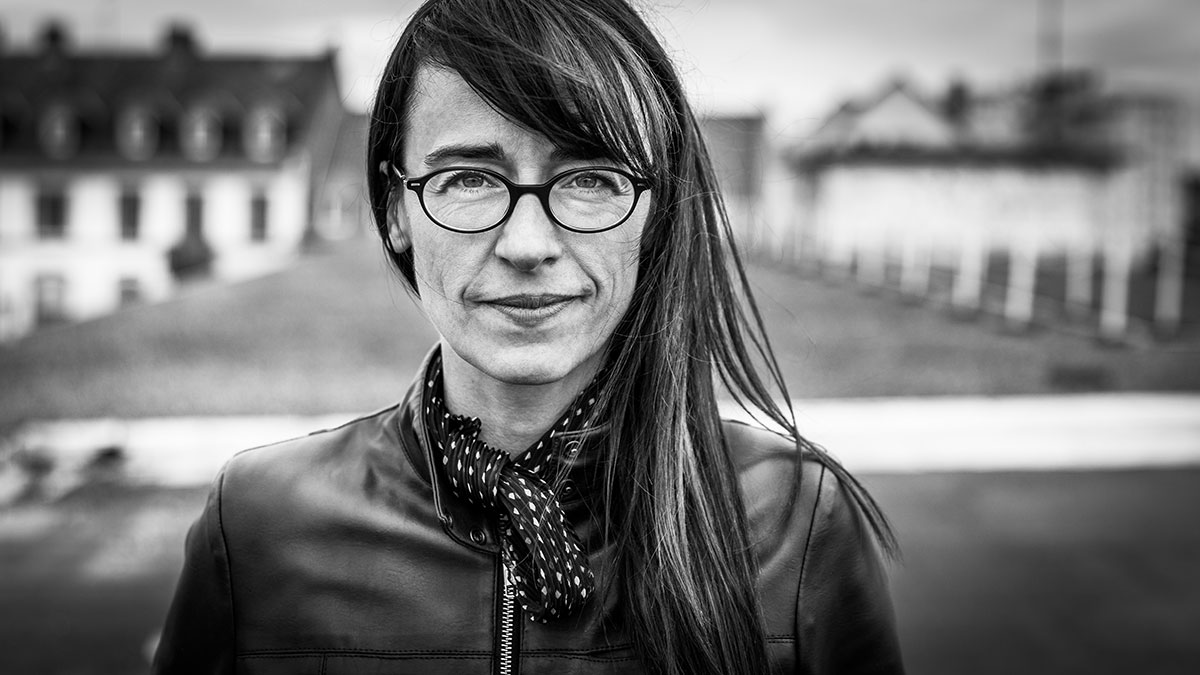 photo portrait artiste comédienne Aude Koegler Strasbourg