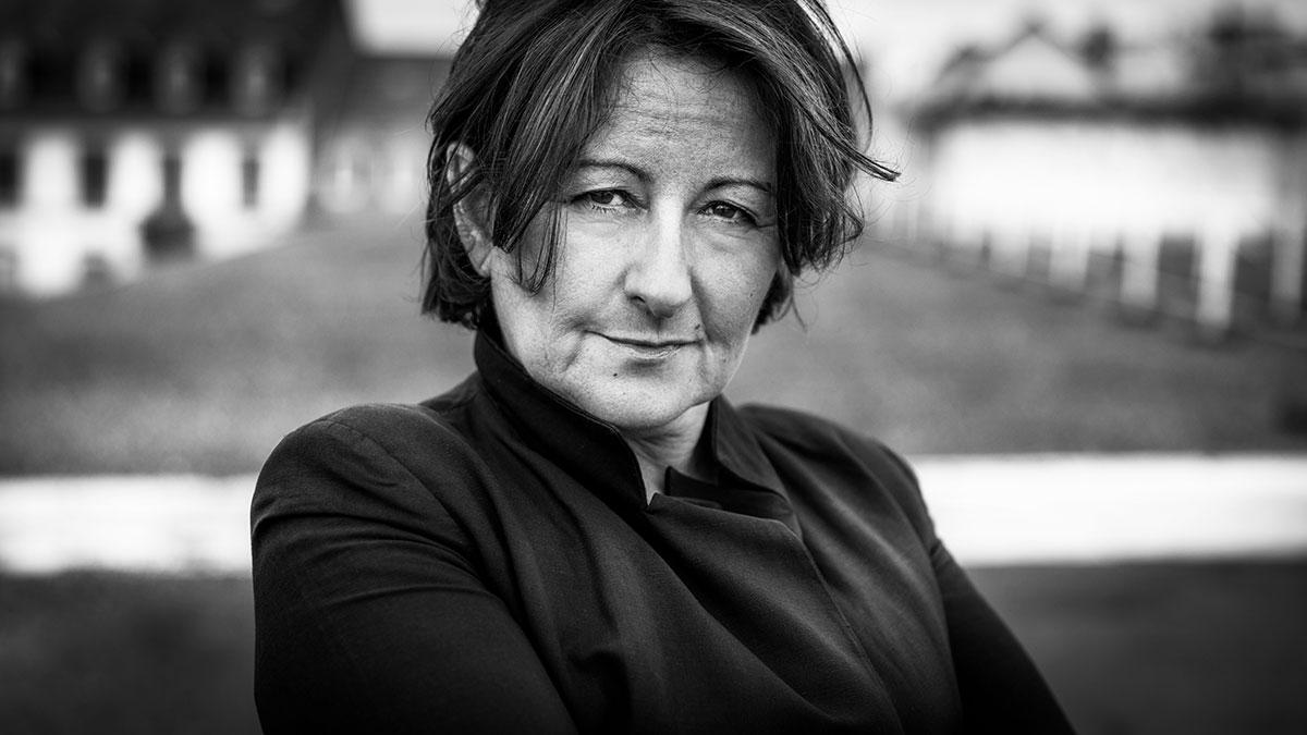 photo portrait artiste metteur en scène comédienne Catherine Javaloyès Strasbourg