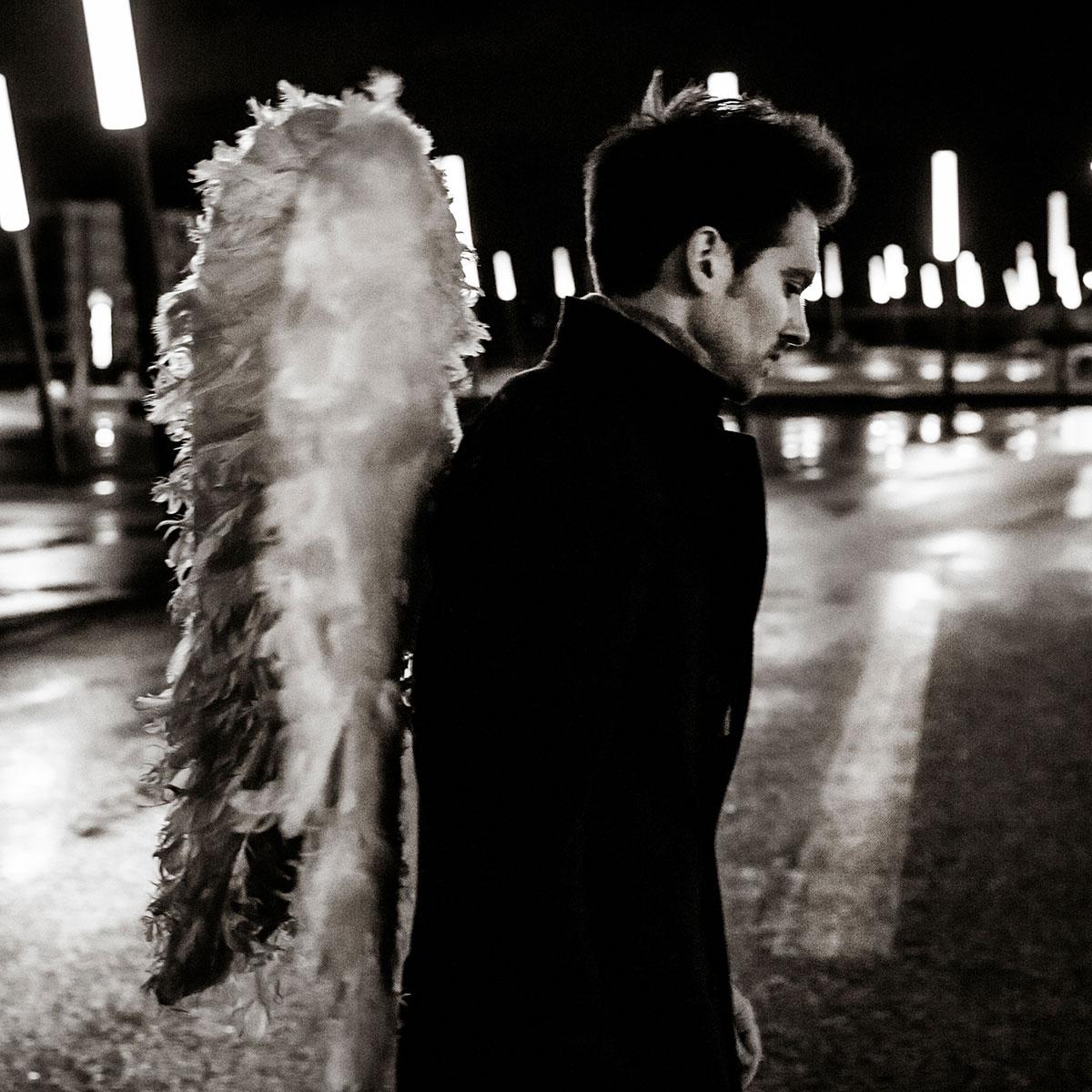 photo portrait exterieur nuit chanteur francois esch strasbourg