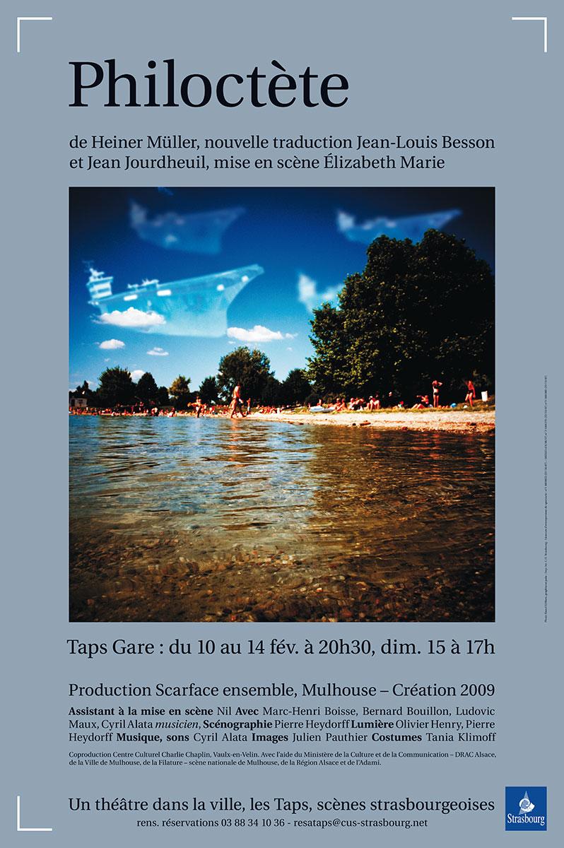affiche recherche illustration photographique taps strasbourg