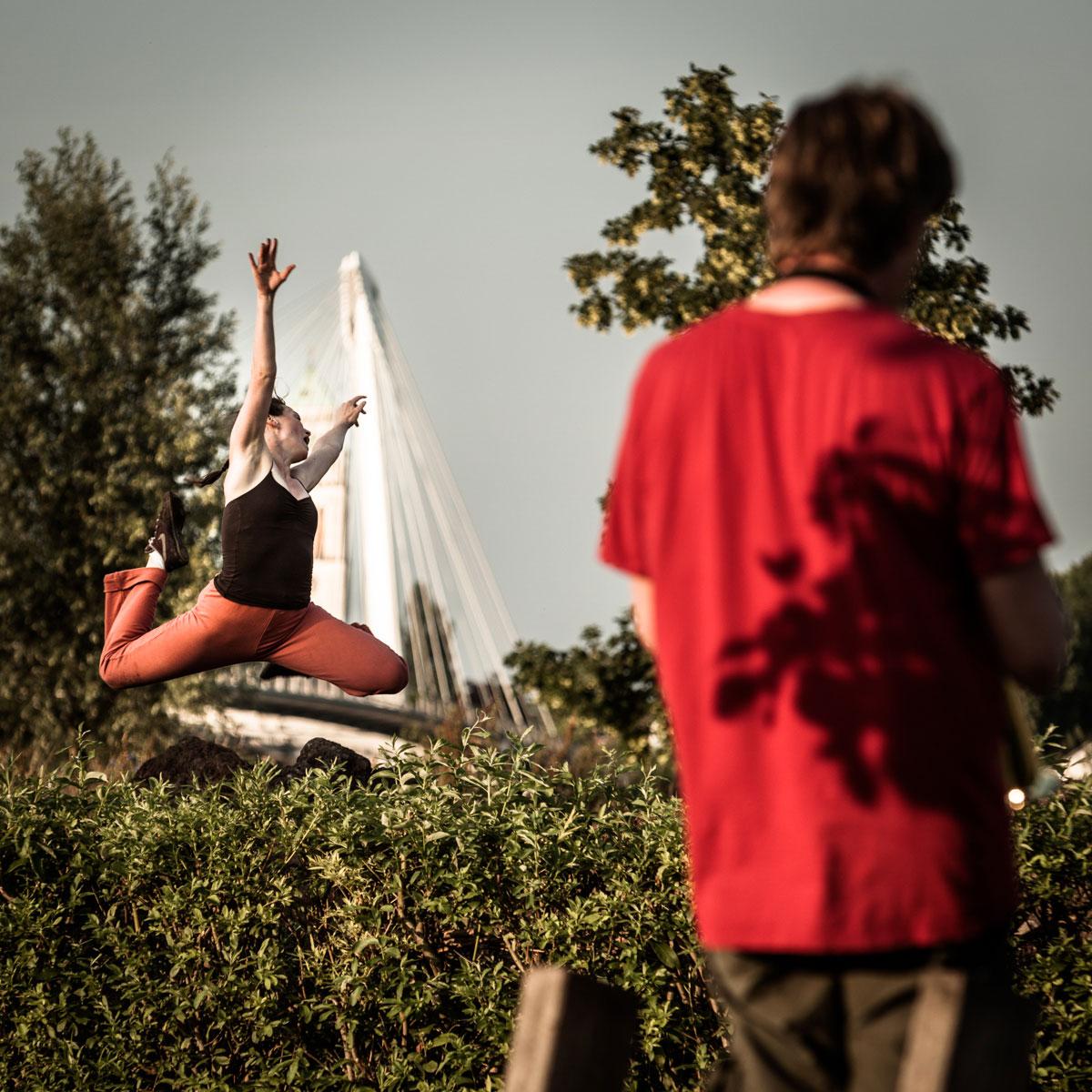 photo danse extérieur parc des deux rives strasbourg