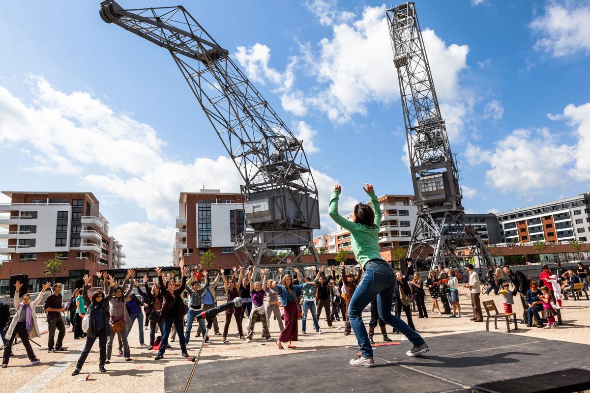 photo danse extérieur Strasbourg festival nouvelles