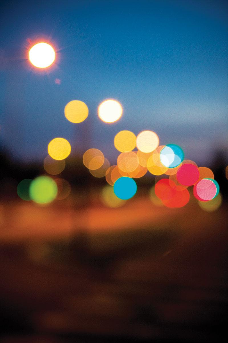 photo de nuit illustration lumiere ville strasbourg
