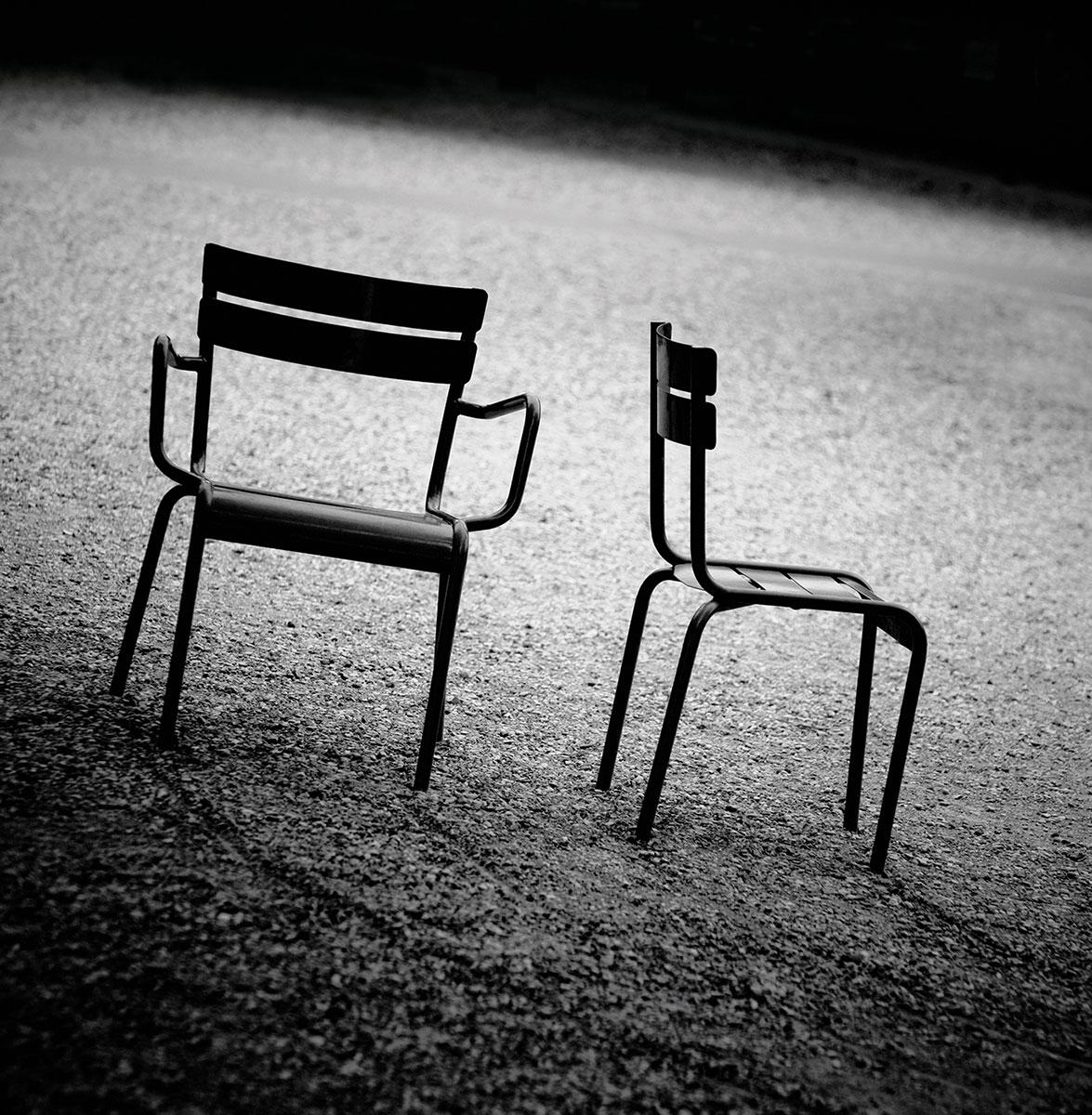illustration photo creation noir et blanc affiche theatre
