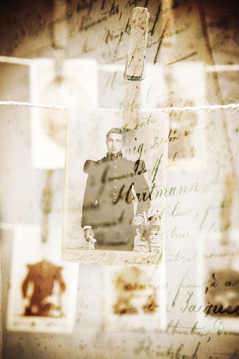 illustration photo ancienne retouche montage affiche theatre