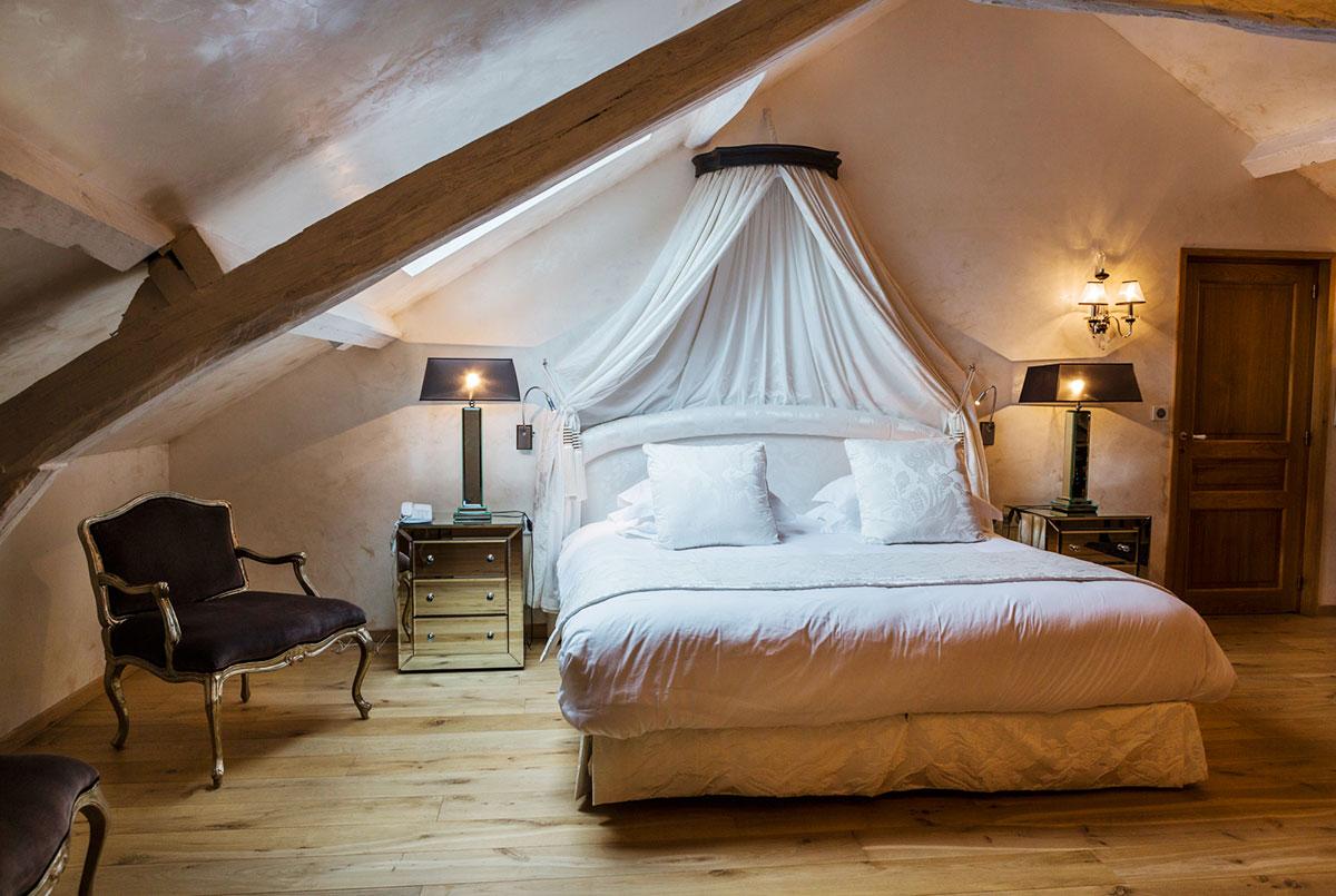 photo reportage chambre hôtel relais et chateau donchery domaine du faucon