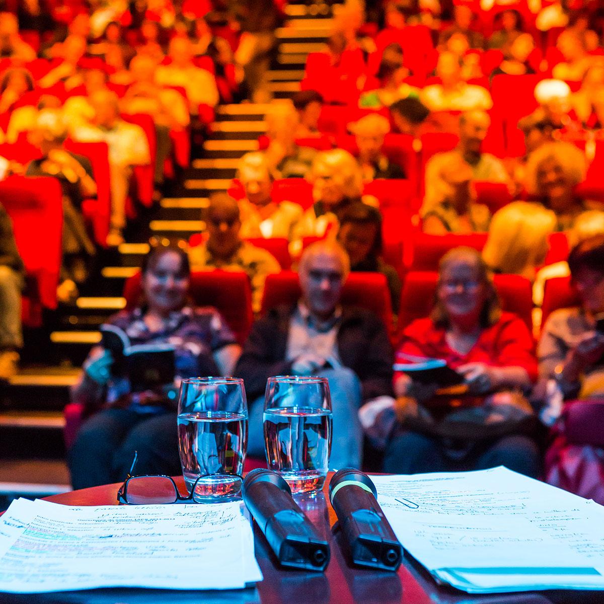 photo reportage illustration salle de spectacle théâtre public
