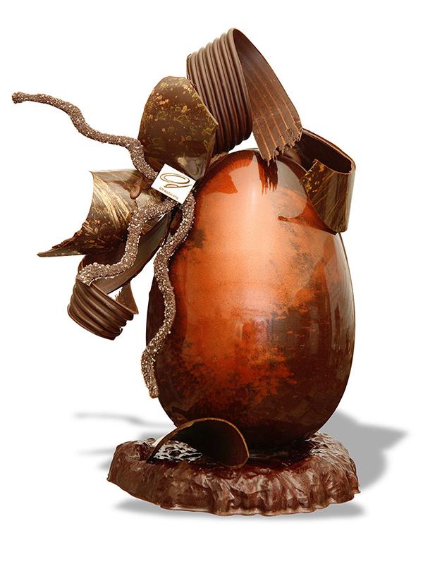photo packshot studio oeuf de Pâques chocolat Gillmann Strasbourg