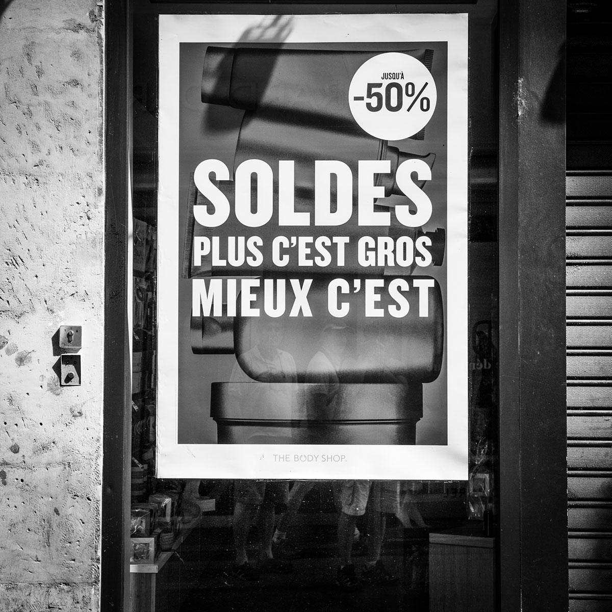 street photography photo de rue noir et blanc metz affiche