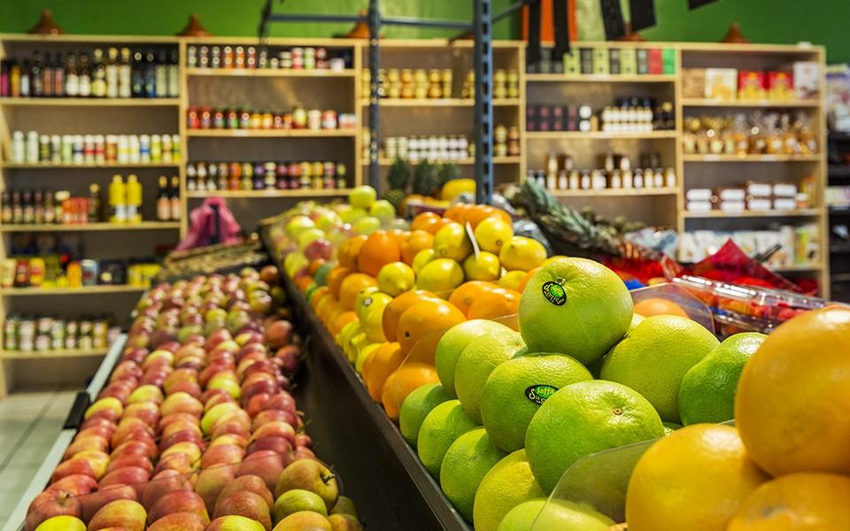 Visite virtuelle et site de E-Commerce pour l'épicerie Zine Frais à Marly