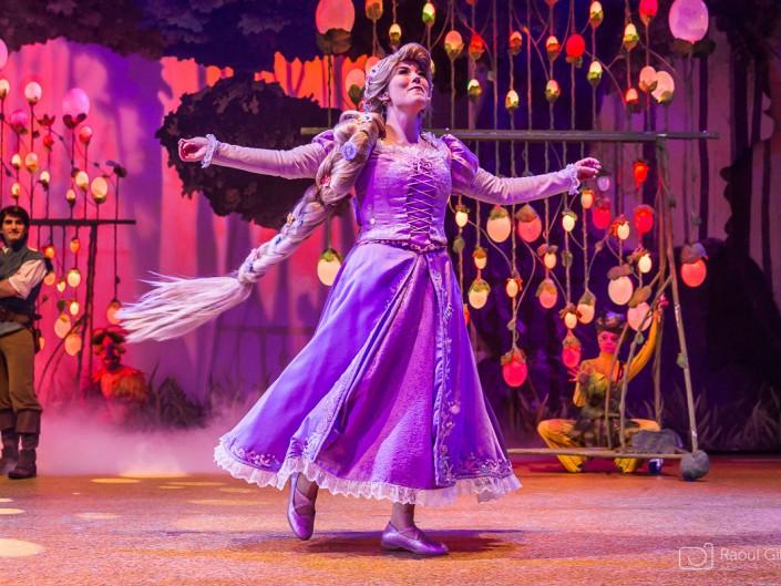 photo spectacle Disneyland Paris La Forêt de l'Enchantement