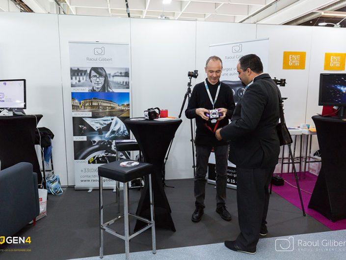 reportage #GEN4 evenement Metz stand professionnel réalité virtuelle