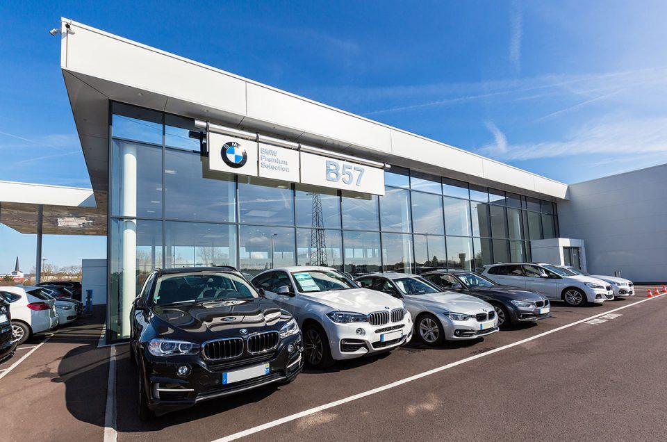 Les concessions BMW / MINI de Moselle en visite virtuelle Google