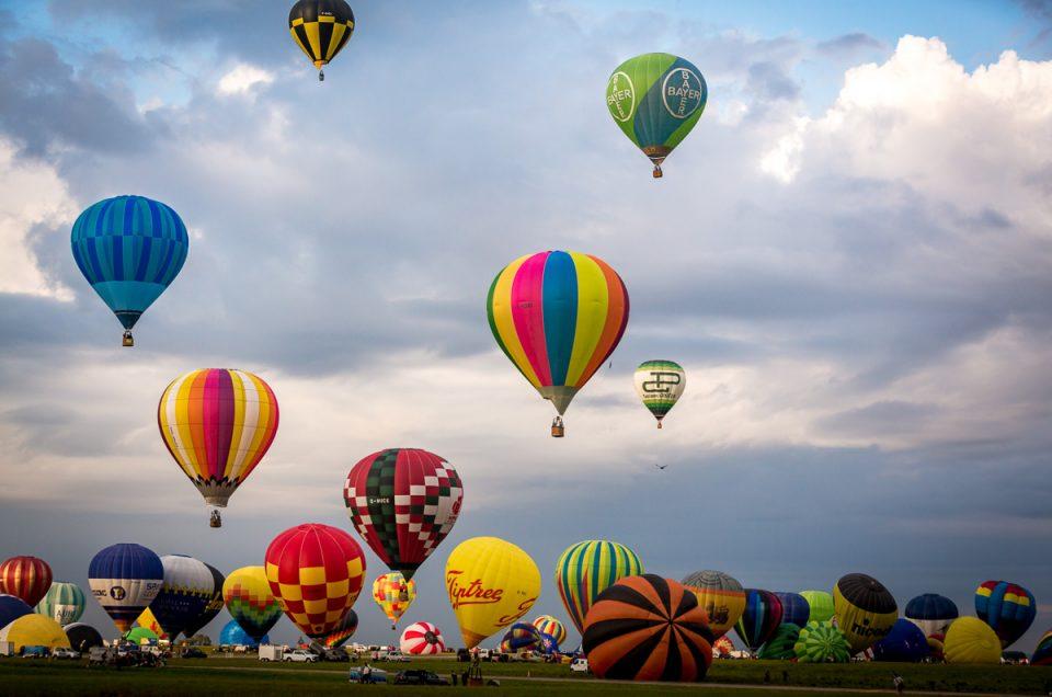 Et la magie continue, Mondial Air Ballon 2017, premier envol matinal...