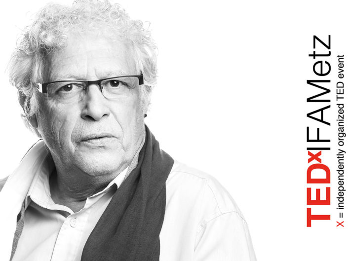 portrait tedx ifa metz Jacques Michel Huret