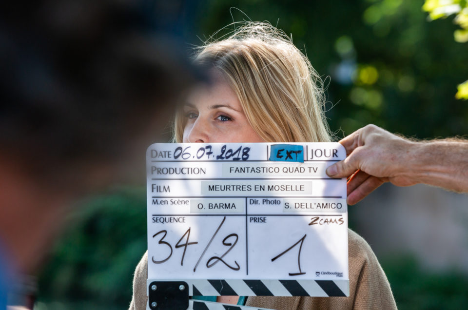 """Sur le tournage d' """" Amours à mort"""""""