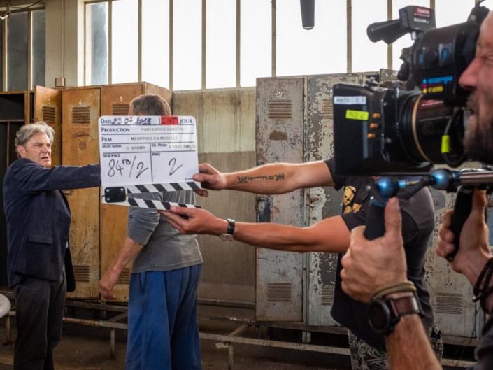 tournage meurtre en moselle, photo de plateau, cinema