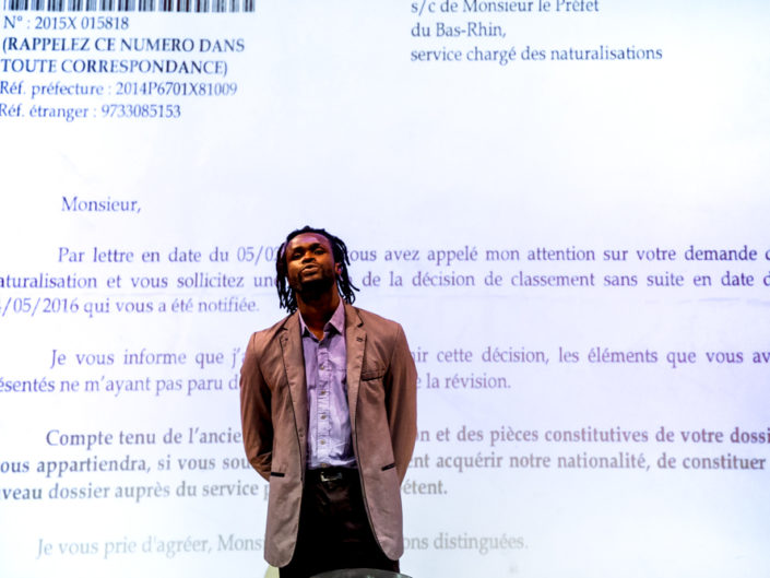 comédien, acteur, théâtre, festival Passages, Metz